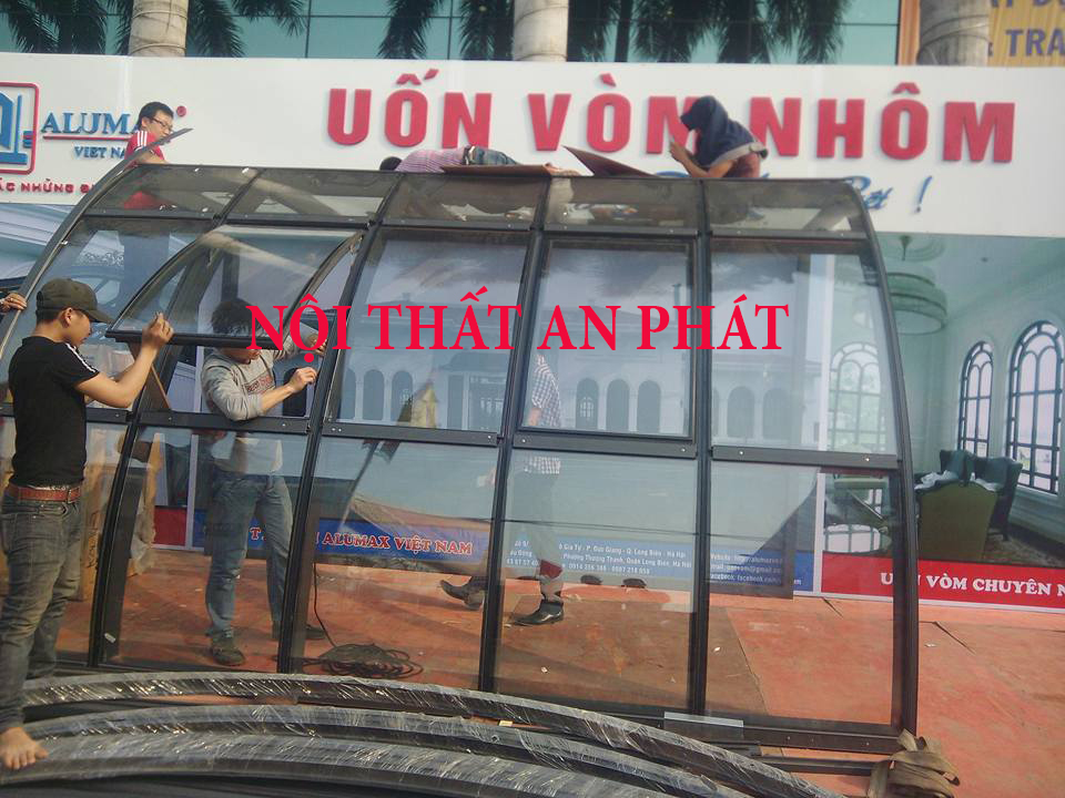 khung nhom uon cong